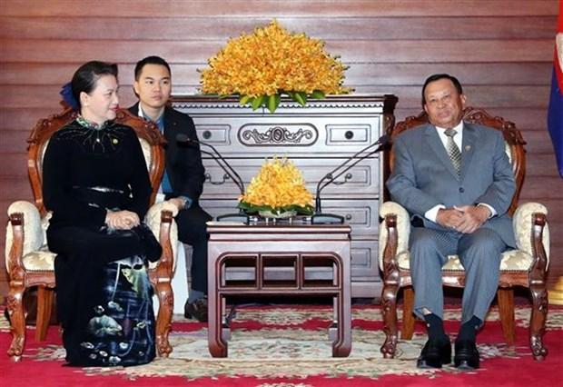 Refuerzan Vietnam y Camboya nexos parlamentarios hinh anh 1