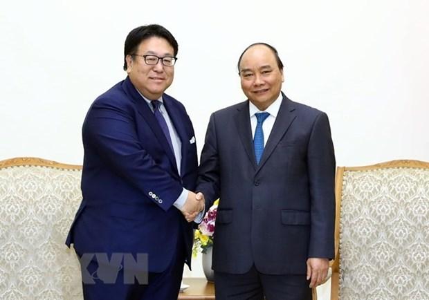 Vietnam facilita a actividades de empresas japonesas, afirma premier hinh anh 1