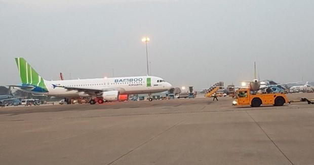 Despego vuelo inaugural de aerolinea vietnamita Bamboo Airways hinh anh 1