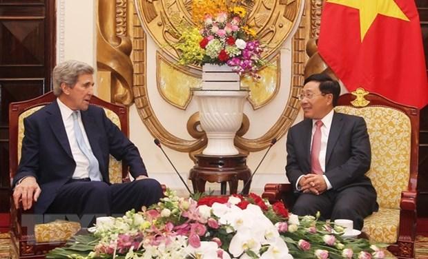Destacan relaciones de cooperacion entre Vietnam y Estados Unidos hinh anh 1