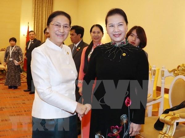 Fortalecen Vietnam y Laos nexos legislativos hinh anh 1