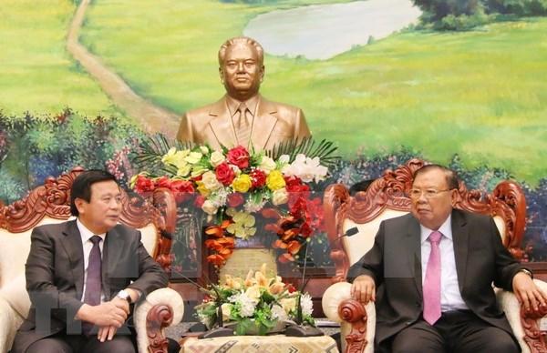 Solicita Laos a Vietnam intensificar apoyo a los estudios teoricos y cientificos hinh anh 1