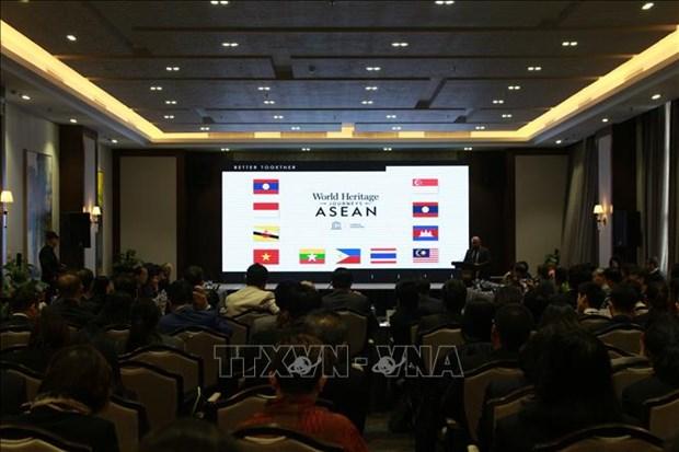 Acuerdan paises de ASEAN intensificar conexion en conservacion de patrimonios hinh anh 1
