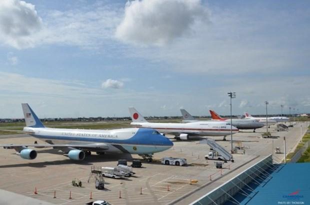 Recibieron aeropuertos camboyanos a mas de 10 millones de pasajeros hinh anh 1