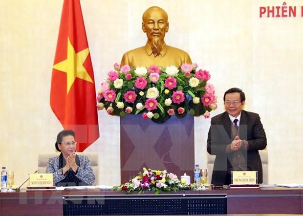 Presidenta parlamentaria de Vietnam elogia aportes del Grupo de Petroleo y Gas a seguridad energetica nacional hinh anh 1