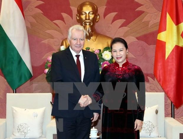Recaba Vietnam apoyo de Hungria a ratificacion de TLC con Union Europea hinh anh 1