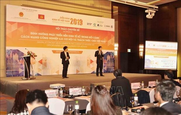 Analizan en Vietnam orientaciones para el desarrollo de economia digital en Industria 4.0 hinh anh 1