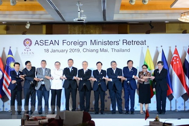 Inauguran Reunion de Ministros de Relaciones Exteriores de ASEAN 2019 hinh anh 1