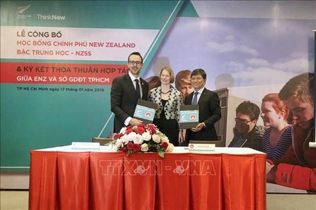 Brinda Nueva Zelanda becas para estudiantes vietnamitas hinh anh 1