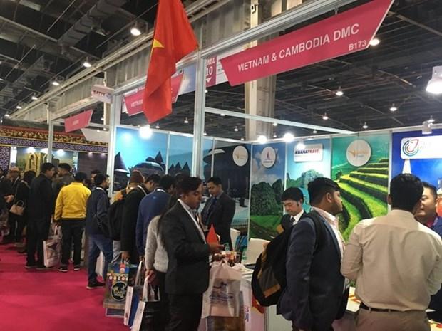 Participa Vietnam en la mayor feria surasiatica de turismo en la India hinh anh 1