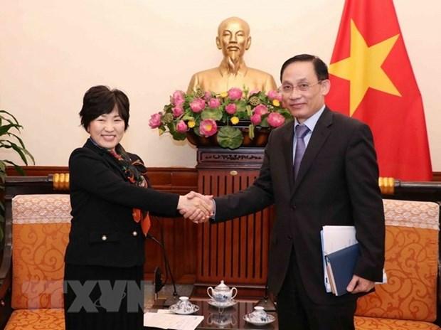 Fomentan Vietnam y Japon sus relaciones de cooperacion en todos los sectores hinh anh 1