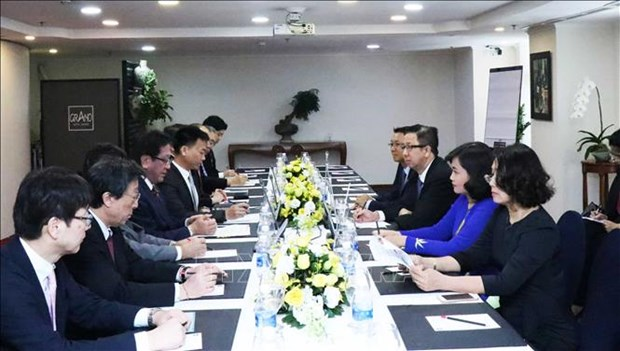 Ciudad Ho Chi Minh y Hokkaido (Japon) por fomentar cooperacion multisectorial hinh anh 1