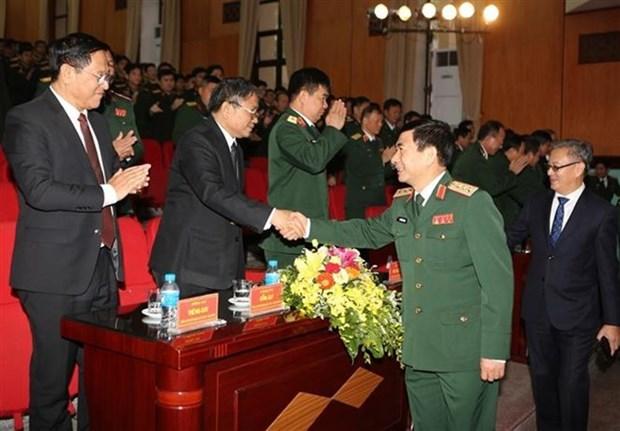 Conmemoran en Vietnam 70 aniversario de la fundacion de las Fuerzas Armadas de Laos hinh anh 1