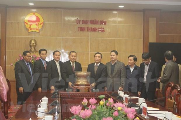 Robustece agencia noticiosa de Laos cooperacion con provincia vietnamita hinh anh 1