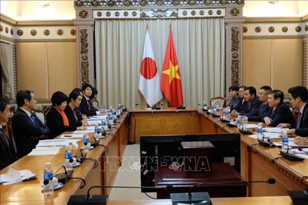 Ciudad Ho Chi Minh da la bienvenida a inversores japoneses hinh anh 1