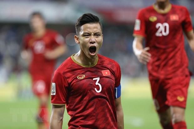 Tres jugadores vietnamitas incluidos en el mejor equipo de Copa Asiatica 2019 hinh anh 1