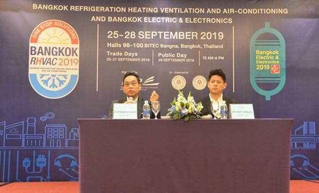 Empresas vietnamitas asistiran en Tailandia a mayores ferias en el mundo hinh anh 1