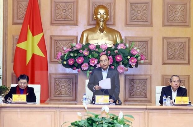 Premier traza tareas para Subcomision Socioeconomica del Partido Comunista de Vietnam hinh anh 1