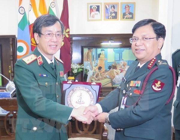 Vietnam y la India agilizan cooperacion en medicina militar hinh anh 1