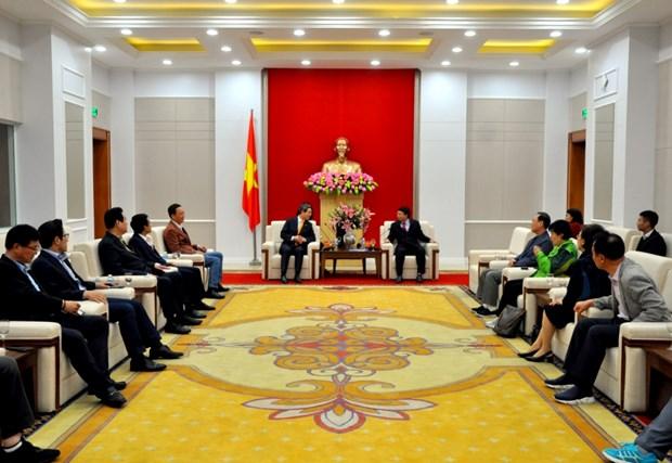 Provincia norvietnamita de Quang Ninh da la bienvenida a inversores surcoreanos hinh anh 1