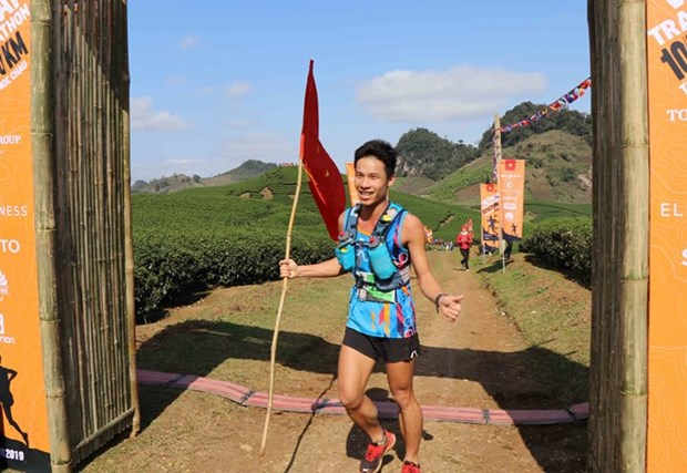 Concluye maraton de montana en provincia norvietnamita de Son La hinh anh 1