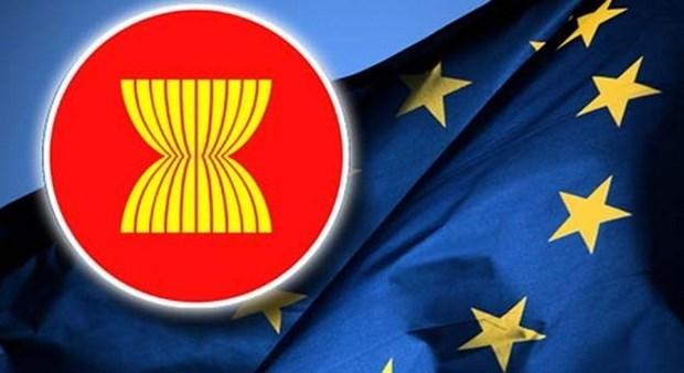Cancilleres de la UE y la ASEAN analizan medidas para fomentar cooperacion estrategica hinh anh 1