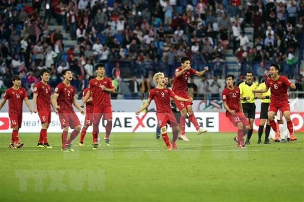 Resalta la prensa de Medio Oriente victoria del equipo vietnamita de futbol en Copa Asiatica-2019 hinh anh 1