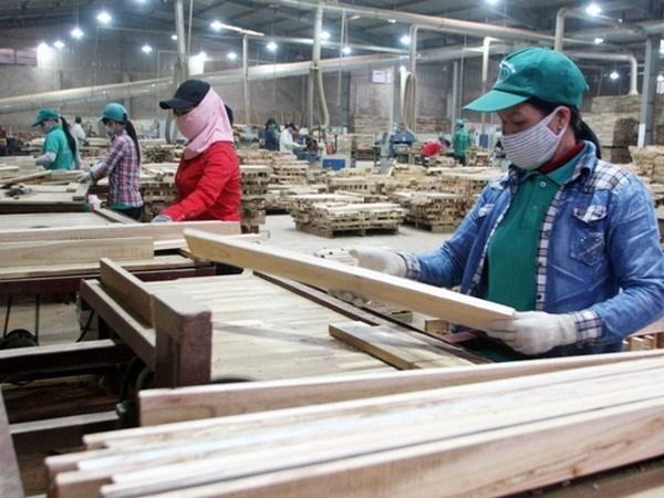 Industria de madera de Vietnam apunta lograr 10 mil 500 millones de dolares en exportacion este ano hinh anh 1