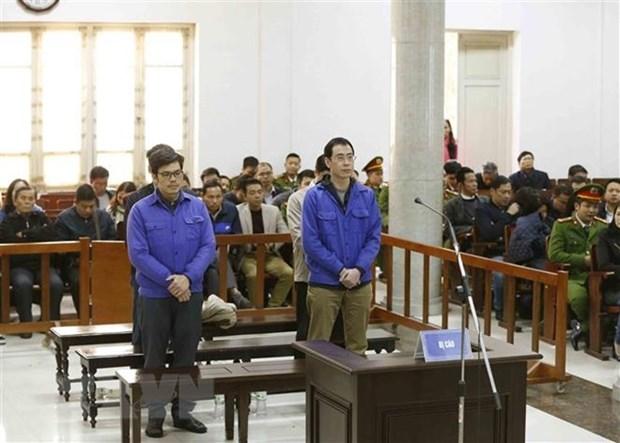 Condenan a prision a ex ejecutivos de compania petroquimica vietnamita de Binh Son hinh anh 1
