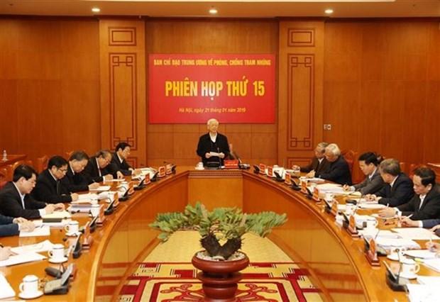 Piden mayor papel de comision partidista en lucha anticorrupcion hinh anh 1