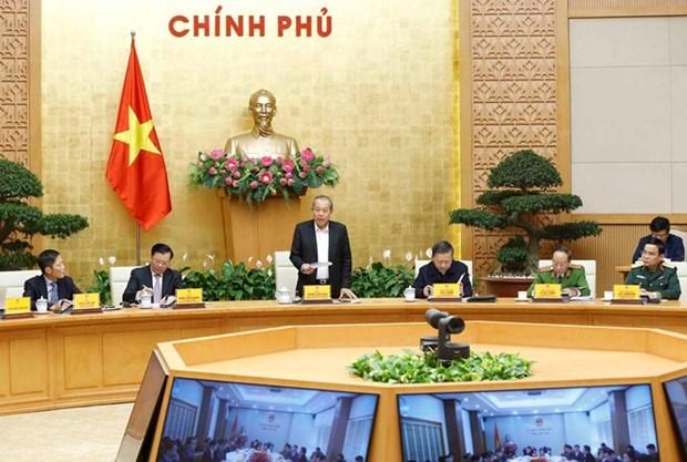Exige Vicepremier vietnamita sanciones estrictas a funcionarios corruptos hinh anh 1