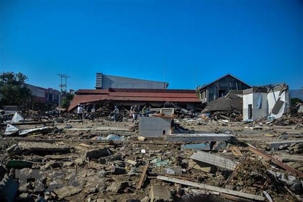 Sufre Indonesia terremoto de magnitud 6,7 en escala de Richter hinh anh 1
