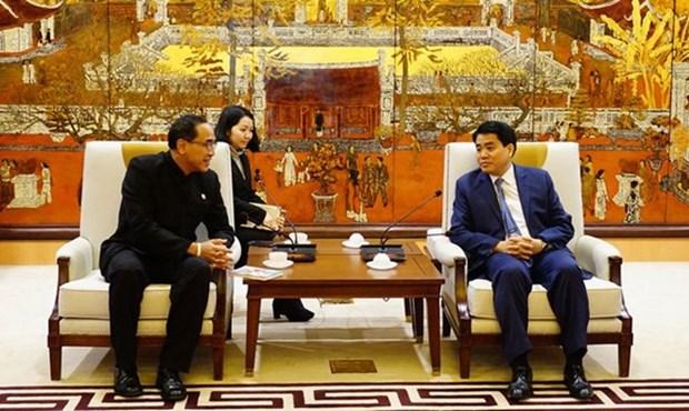 Hanoi aspira a establecer relaciones de hermandad con Bangkok hinh anh 1