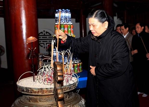 Realizan velada artistica en conmemoracion del Aniversario 70 de Alianza de Combate Vietnam- Laos hinh anh 1