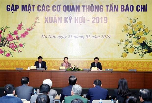 Prensa debe ser foro abierto para el publico, indica dirigente legislativa de Vietnam hinh anh 1