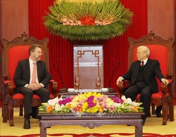 Vietnam y Australia por fomentar asociacion estrategica bilateral hinh anh 1