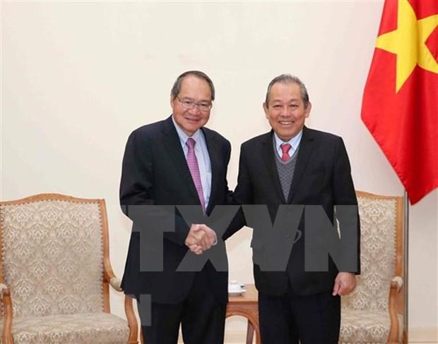 Destacan desarrollo de la cooperacion entre Vietnam y Singapur en la esfera judicial hinh anh 1