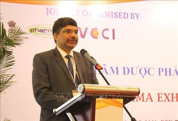 Destacan grandes oportunidades de cooperacion entre Vietnam y India en sector farmaceutico hinh anh 1