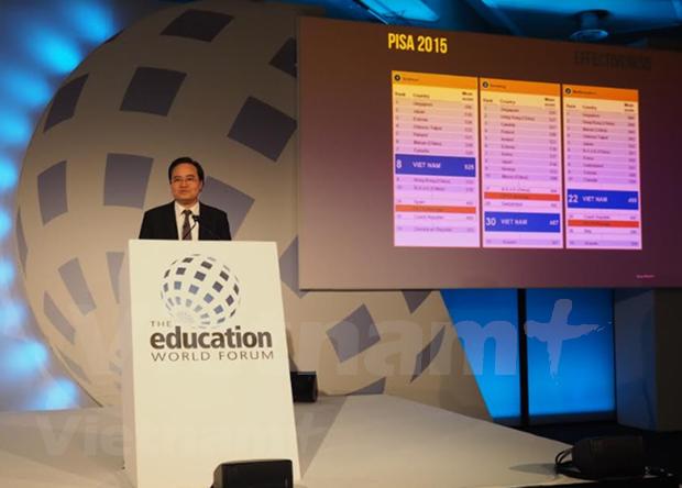 Asiste Vietnam al Foro Mundial sobre Educacion hinh anh 1