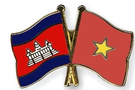 Provincias contiguas de Vietnam y Camboya intensifican cooperacion multisectorial hinh anh 1