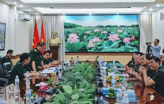 Vietnam y Camboya promueven cooperacion en medicina militar hinh anh 1
