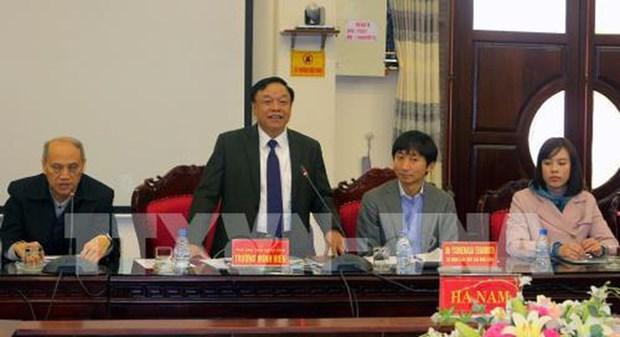 Empresas japonesas estudian entorno de inversion en provincia vietnamita de Ha Nam hinh anh 1