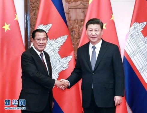 China reitera compromiso de cooperacion con Camboya hinh anh 1