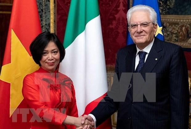 Agilizaran cooperacion integral Vietnam – Italia hinh anh 1