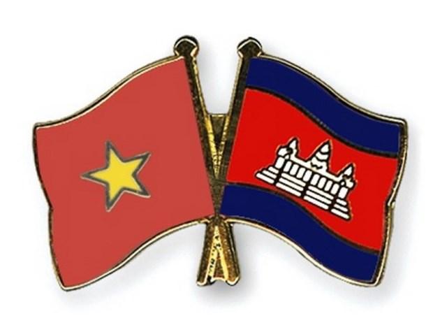 Provincias vietnamita y camboyana fomentan la amistad hinh anh 1
