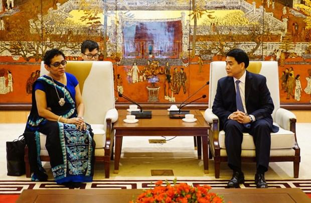 Fortalece Hanoi cooperacion con Sri Lanka en multiples sectores hinh anh 1
