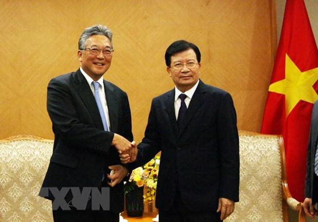 Destaca Vicepremier de Vietnam contribucion de empresas japonesas a la economia de su pais hinh anh 1