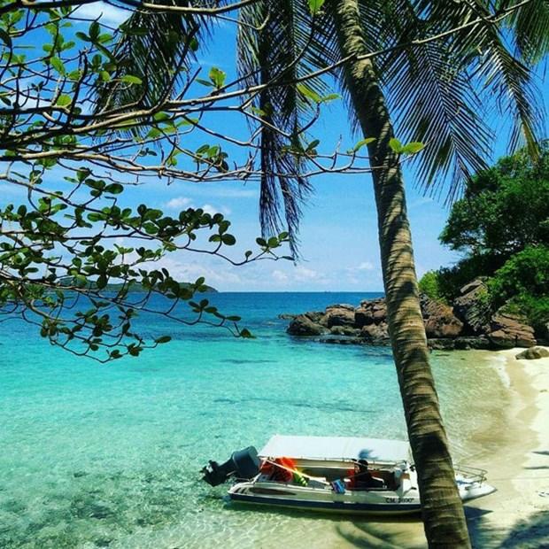 Posee la isla vietnamita de Hon Xuong la misma belleza que Maldivas, observa periodico britanico hinh anh 1