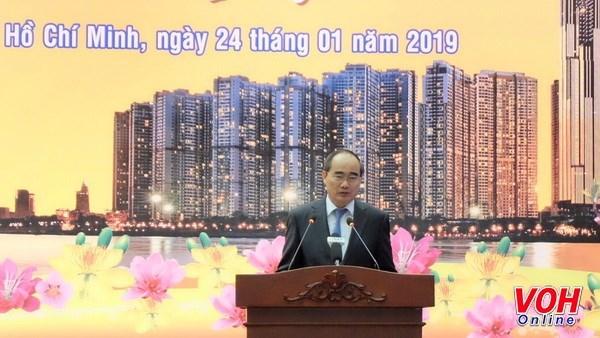 Reconocen autoridades de Ciudad Ho Chi Minh contribuciones a la Patria de vietnamitas en exterior hinh anh 1