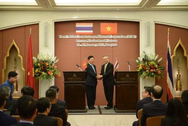 Planean Vietnam y Tailandia elevar comercio bilateral a 20 mil millones de dolares hinh anh 1